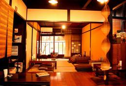 京都西陣・こたつのある町家カフェ「ひだまり」