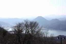 近畿百景第一位と言われる五老ヶ岳公園からの眺め