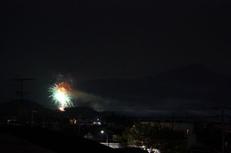 京都国際会館の花火
