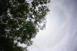 2014年5月18日の日暈(ハロ)