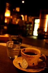南丹園部のギャラリーカフェ「道の途中」オリジナルブレンドコーヒー