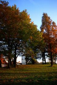 秋の夕暮れ・ブルーメの丘