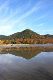 晩秋・紅葉の広沢池