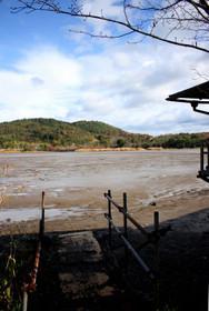12月の広沢池