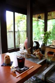 夏の大原山荘・足湯カフェ