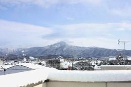 61年ぶりの積雪