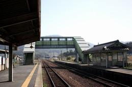 北近畿タンゴ鉄道栗田(くんだ)駅