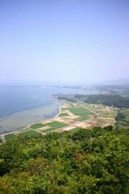 かぶと山展望台からの眺め