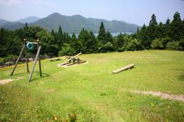 キャンプ場付近の公園