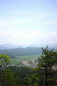 かぶと山登山道からの眺望