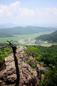 人食い岩からの眺望