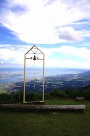びわ湖バレイから眺める琵琶湖