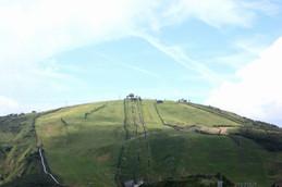 蓬莱山方面の眺望