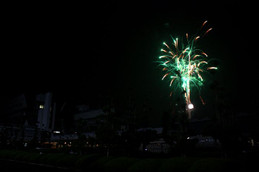 宝ヶ池の花火2015
