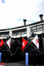 梅小路のC62機関車