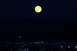 今年最大の満月