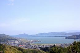 大内峠から見る天橋立一字観