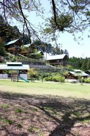 一字観公園のコテージ