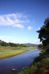 上賀茂御薗橋からの風景