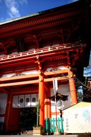 ひっそり静まる2016年大晦日の今宮神社