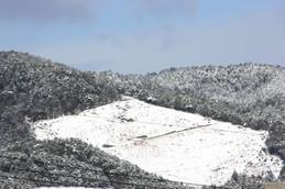 雪の西賀茂・船形