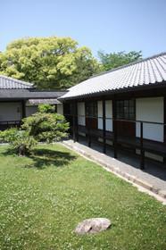 京都御苑 閑院宮跡収納展示室