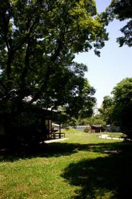 広大な閑院邸跡敷地