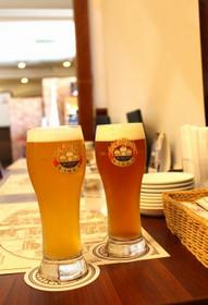 長浜浪漫ビールの淡海ピルスナーと長浜エール