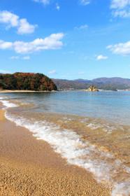 12月と思えないほど温かくおだやかな宮津の海(田井)