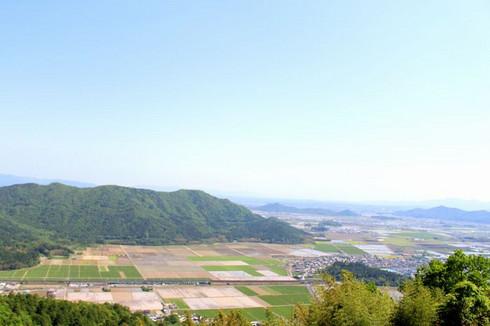 西国三十二番礼所観音正寺からの眺望